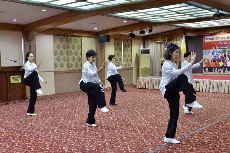 นายกเทศมนตรีเมืองนราธิวาส ร่วมส่งเสริมและสนับสนุนกิจกรรมฝึกมวยจีนตระกูลหยาง 85
